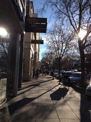 Palo Altoの街