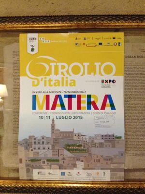 Girolio @ Matera