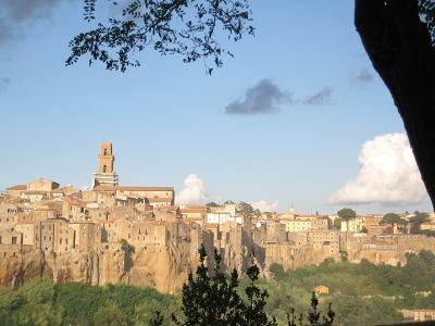 シエナから離れた小さな街~Pitigliano~